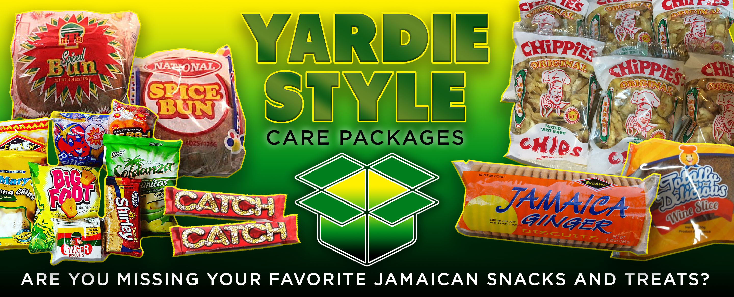 Yardie Style Care Packages Get Your Jamaican Snacks